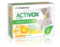 Activox Sans Sucre Pastilles Miel Citron B/24 à VITRE