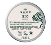 Nuxe Bio Déodorant Baume Fraîcheur 24h Peaux Sensibles Pot/50g à VITRE