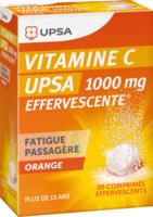 Vitamine C Upsa Effervescente 1000 Mg, Comprimé Effervescent à VITRE
