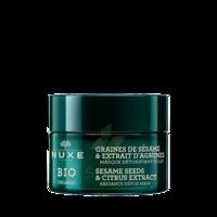 Nuxe Bio Masque Détoxifiant Eclat 50ml à VITRE