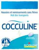 Boiron Cocculine Comprimés Orodispersibles B/40 à VITRE